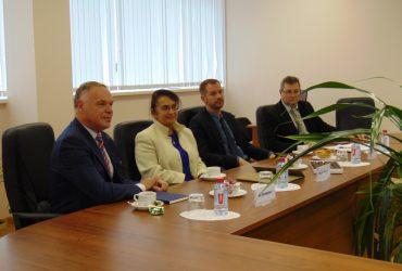 Spotkanie delegacji WSTiH z RANEPA w Kaliningradzie