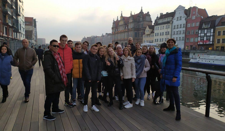 Wycieczka po Gdańsku dla studentów WSTiH