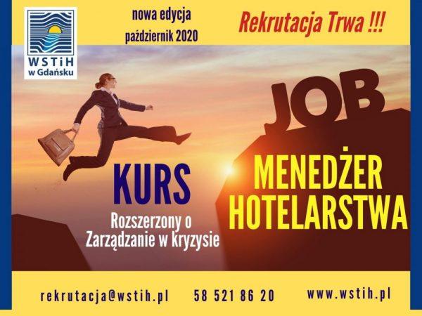 Kurs Menedżera Hotelarstwa – nowa edycja!
