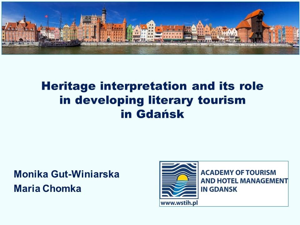 WSTiH uczestnikiem międzynarodowej konferencji The International Conference on Literature, Tourism, and Cities