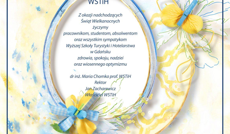 Wielkanocne życzenia ze słonecznym pozdrowieniem