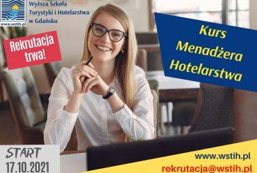Kurs Menadżera Hotelarstwa – rekrutacja trwa!